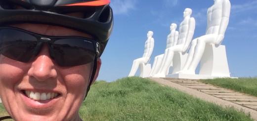 De 4 hvide mænd - dem kan man altid regne med! De ser fantastiske ud i solskinsvejr
